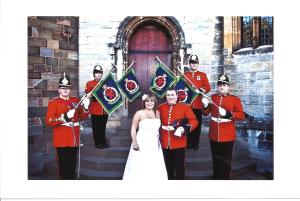 Our Wedding Day at Cardiff Castle